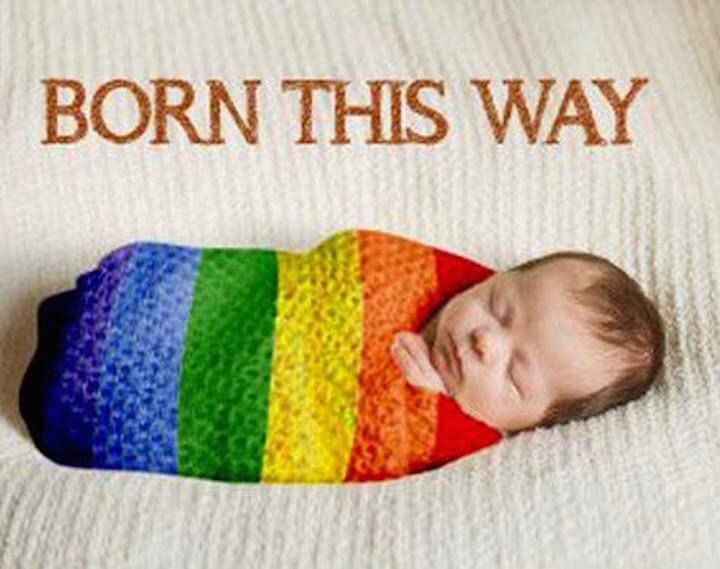 Women wanting born homosexual