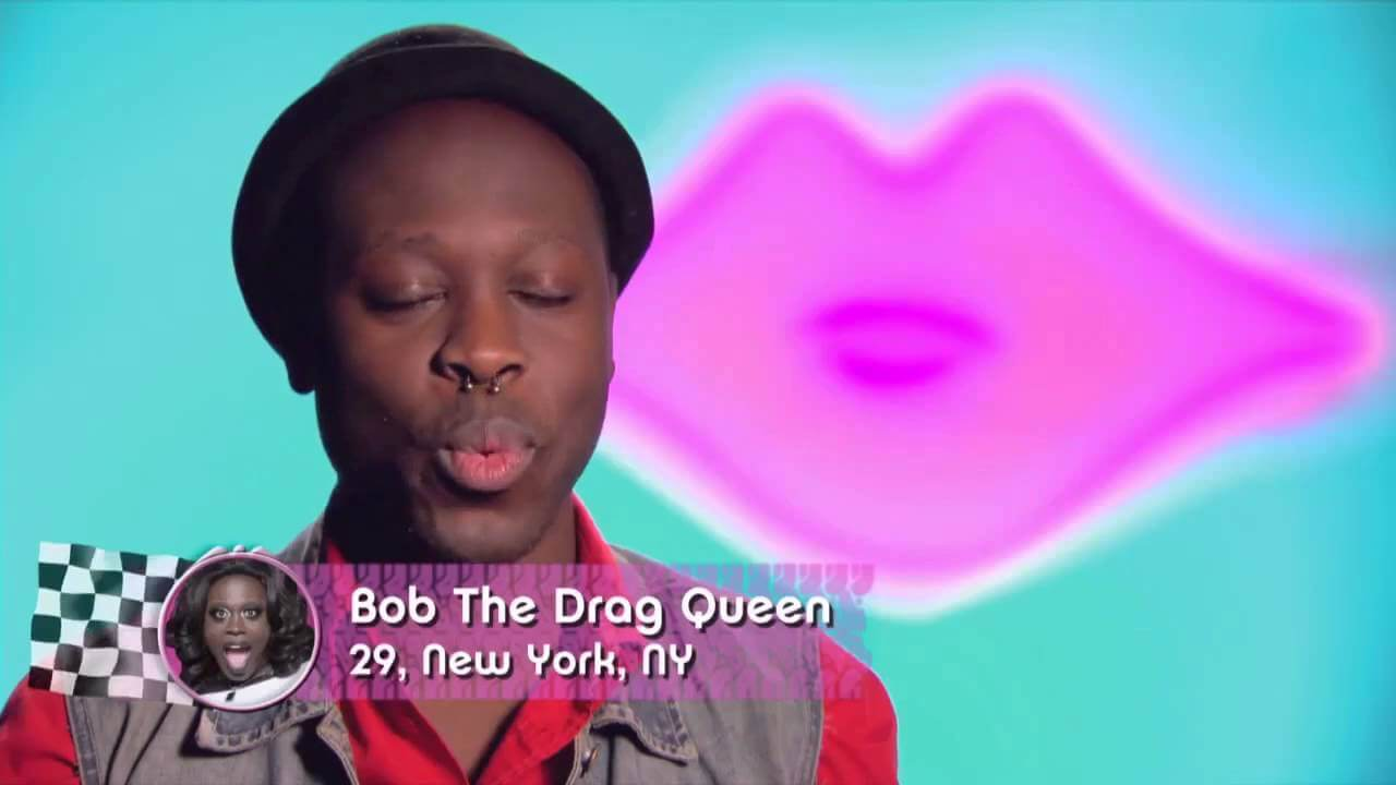 Bob the Drag Queen vince RuPaul's Drag Race 8