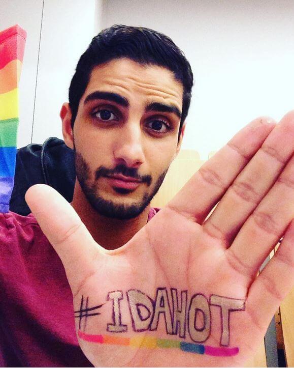 #idahot2016_adbel_bijat_mr_gay_belgio