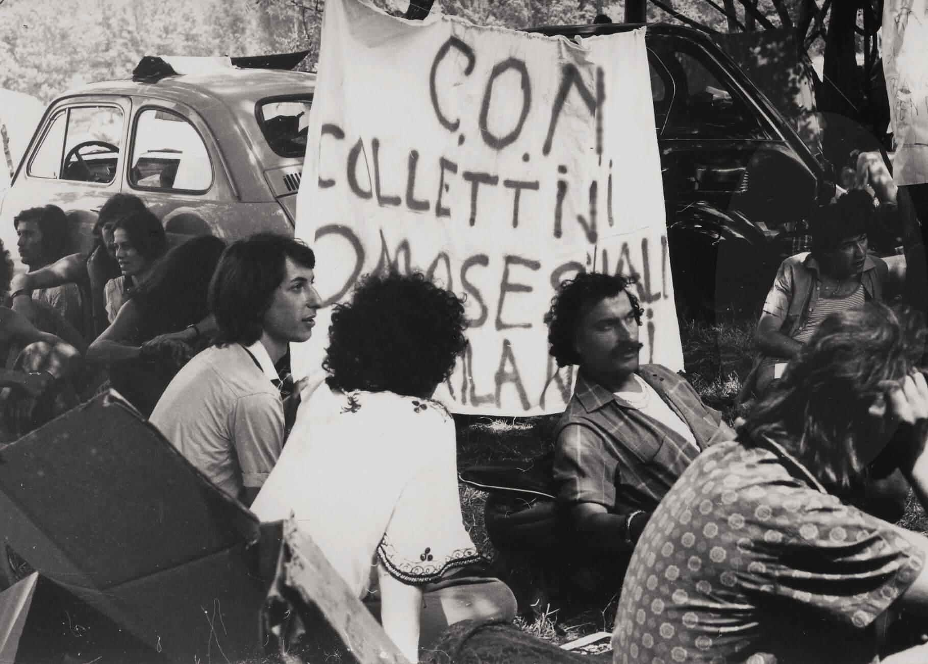 Festa del proletariato giovanile, svoltasi al Parco Lambro di Milano.