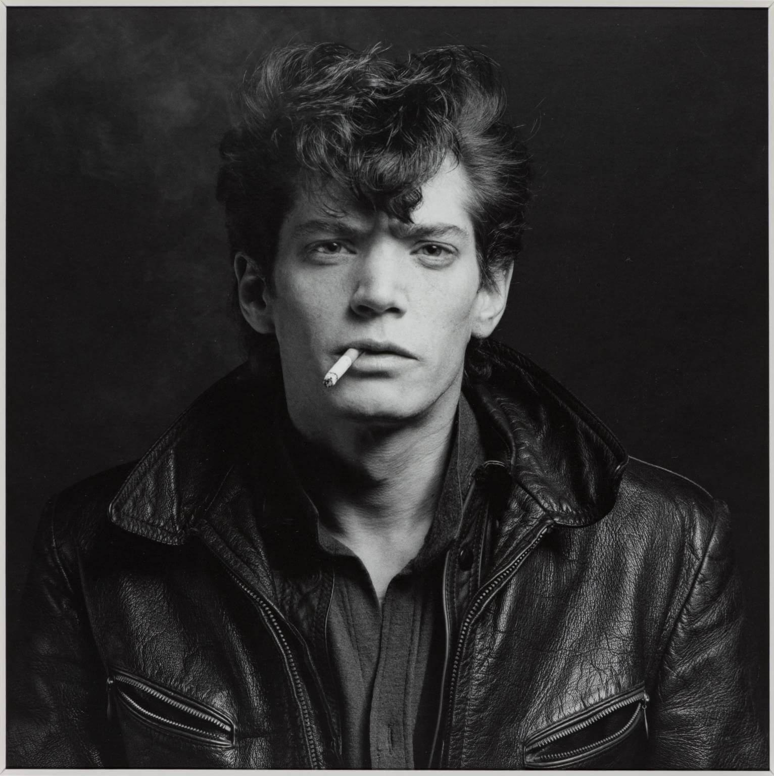 Self Portrait-1980-Robert-Mapplethorpe
