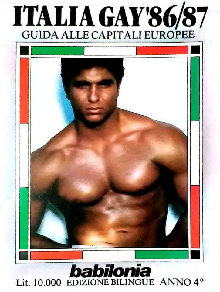 Guida Italia gay e guida alle capitali europee, edizione 1986/87.