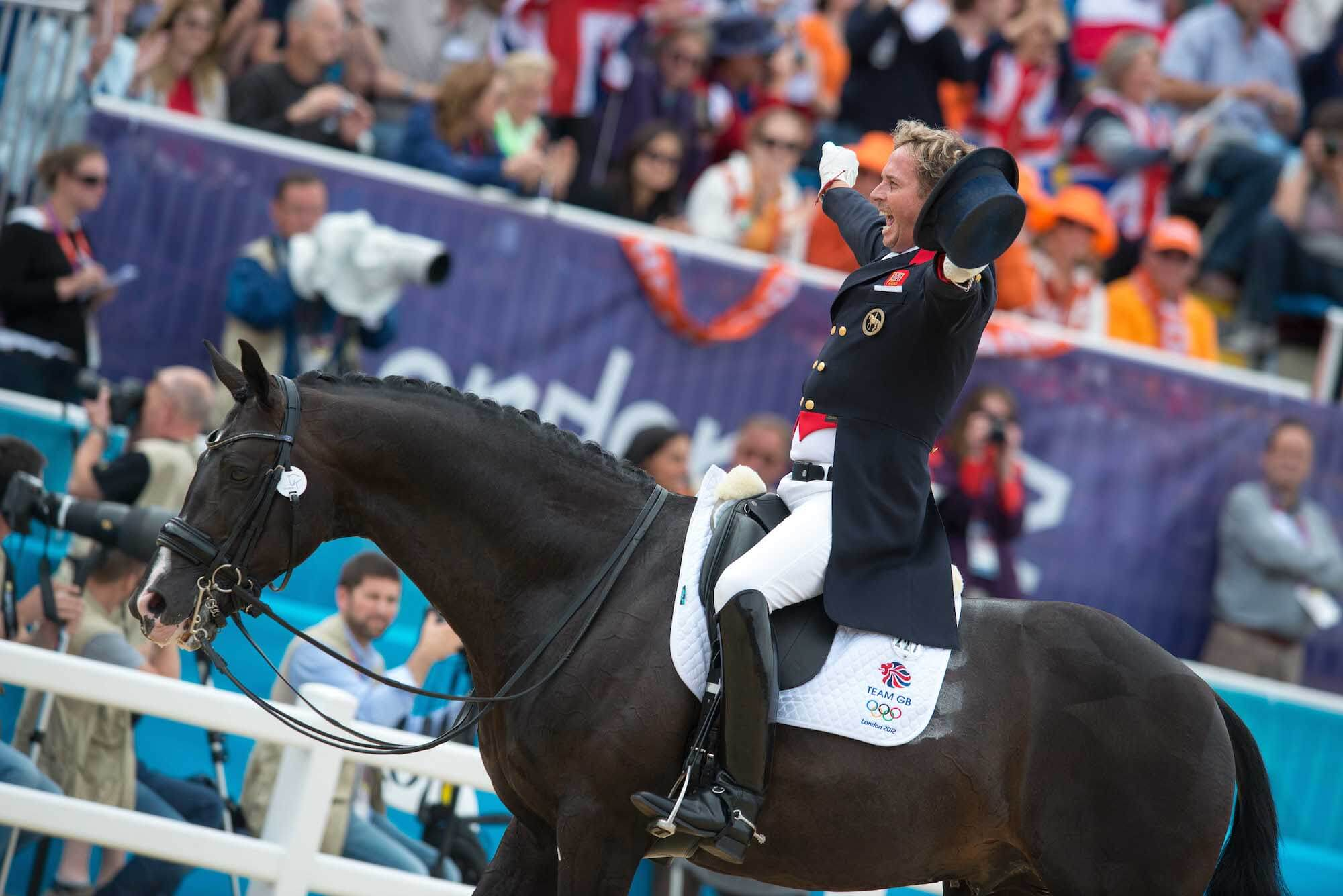 Carl Hester (GBR) & Uthopia - Dressage Grand Prix Special - London 2012 Olympic Games - Greenwich Park, London, United Kingdom - 07 August 2012
