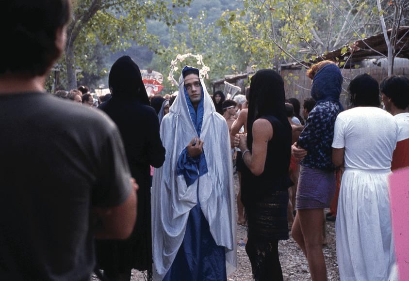 """Processione delle """"madonne"""" a Vieste."""