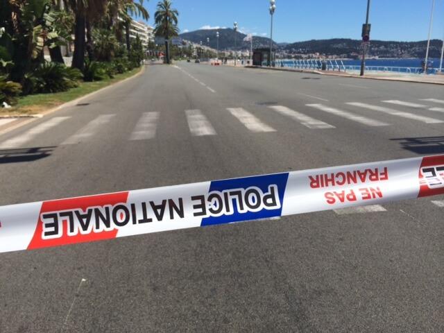 Nizza, il lungomare della strage come appare ora (foto Roberto Schinardi)