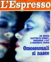 """Un'inchiesta de """"L'Espresso"""", fortemente criticata da Lambda, del 1981."""