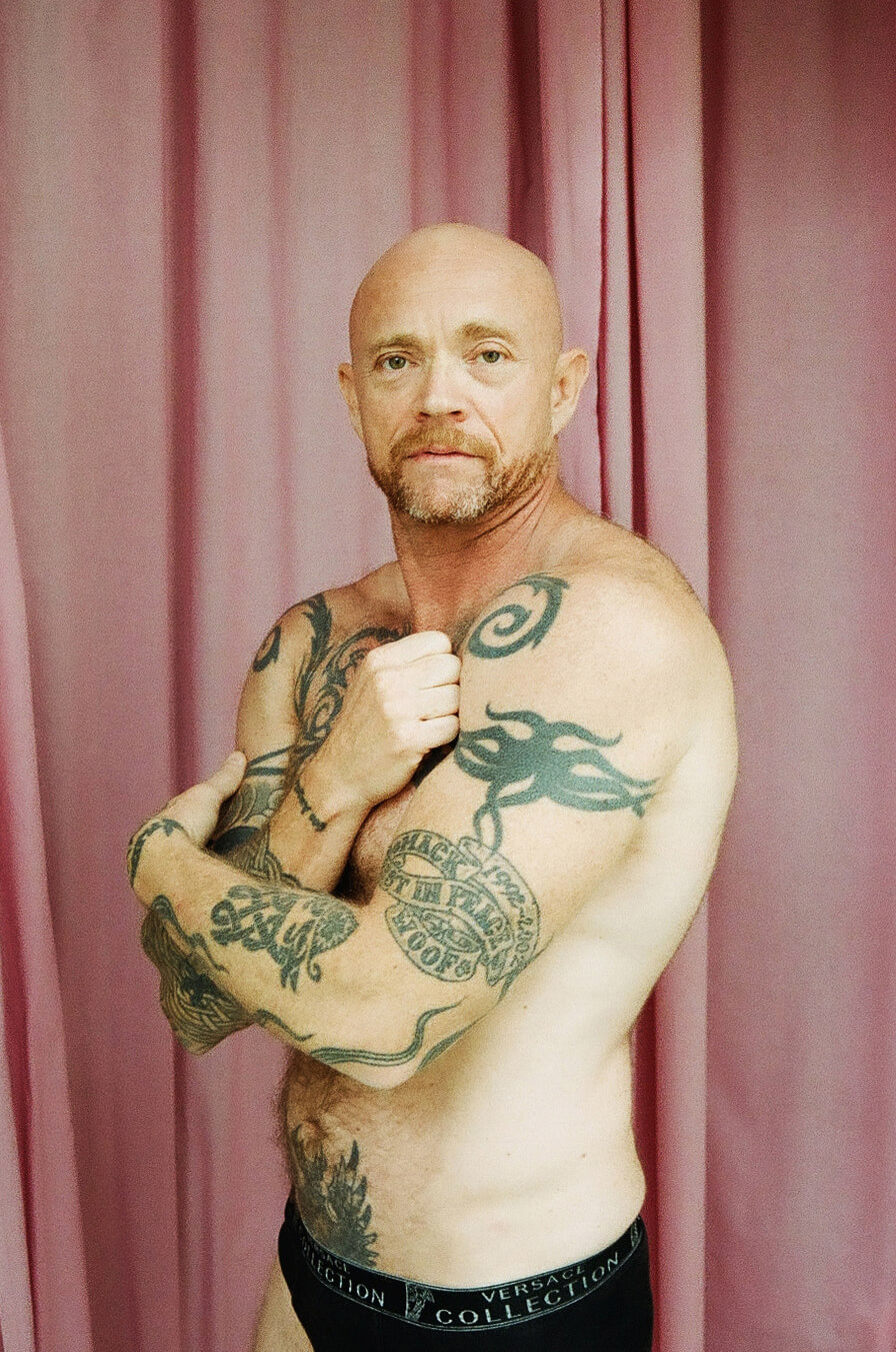 Buck Angel, 53, Mexico City, porn actor, porn producer and trans activist