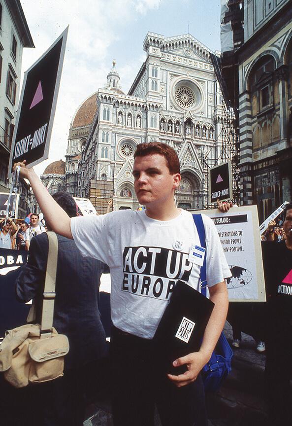 1991manifestazione firenze aids