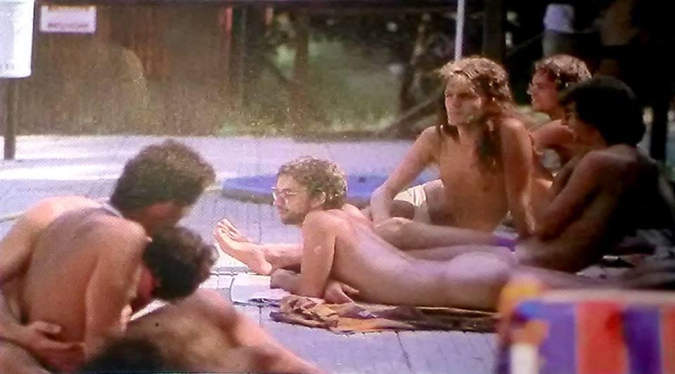 """Atleti a riposo"", Rodi Garganico, 1984."