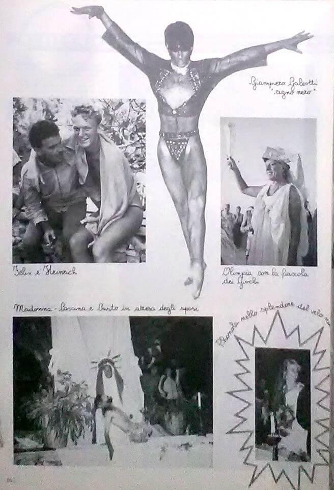 """Rodi Garganico, 1984. Da """"Babilonia"""" numero 18, ottobre 1984."""