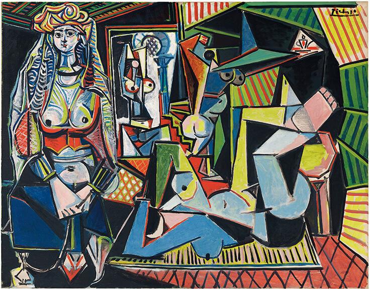 Les Femmes d'Algers, Pablo Picasso, 1955