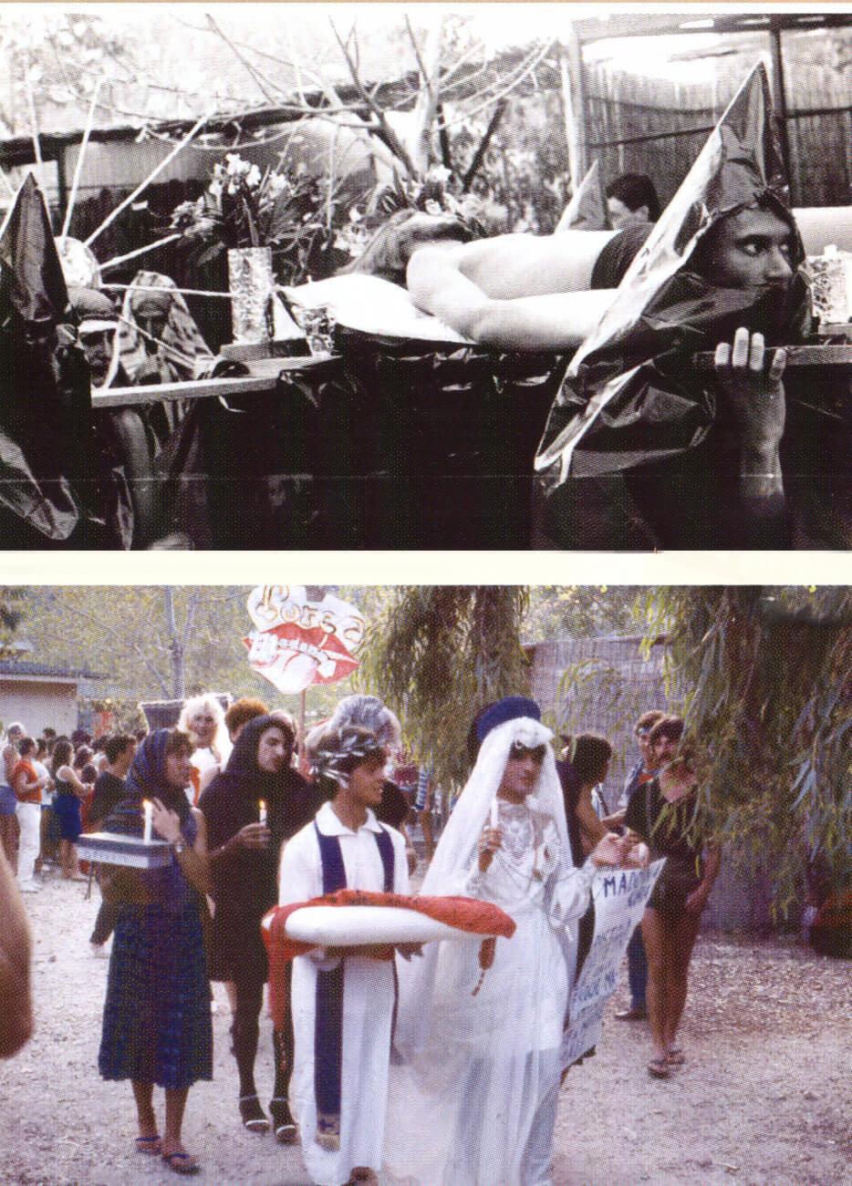 Le processioni.