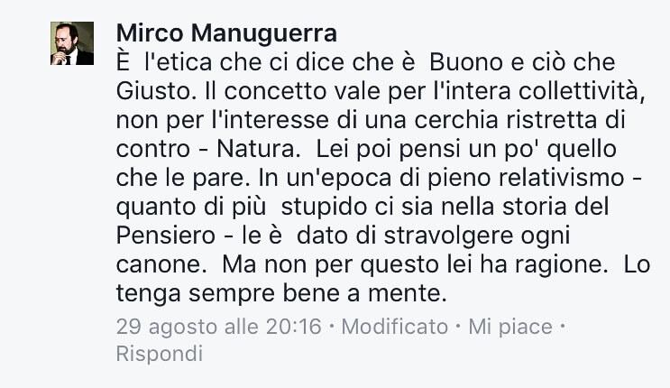 Vergognoso linciaggio omofobo del Presidente Centro Studi Danteschi su Facebook: