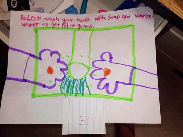 Bambini che disegnano peni per sbaglio