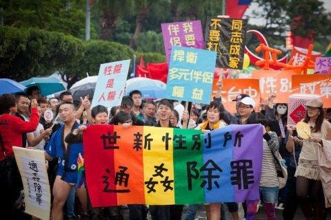 Asia, per la prima volta a Taiwan due gay si sposeranno