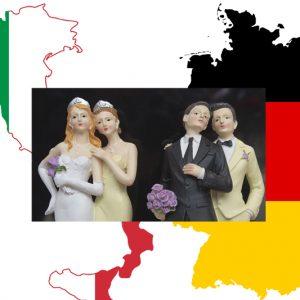 Germania, matrimoni e adozioni gay in quattro giorni: il confronto impietoso con l'Italia