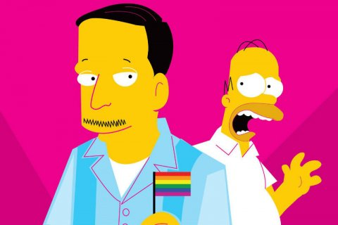 Lisa Simpson cartone animato sesso