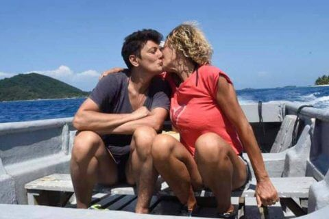 Imma Battaglia e Eva Grimaldi
