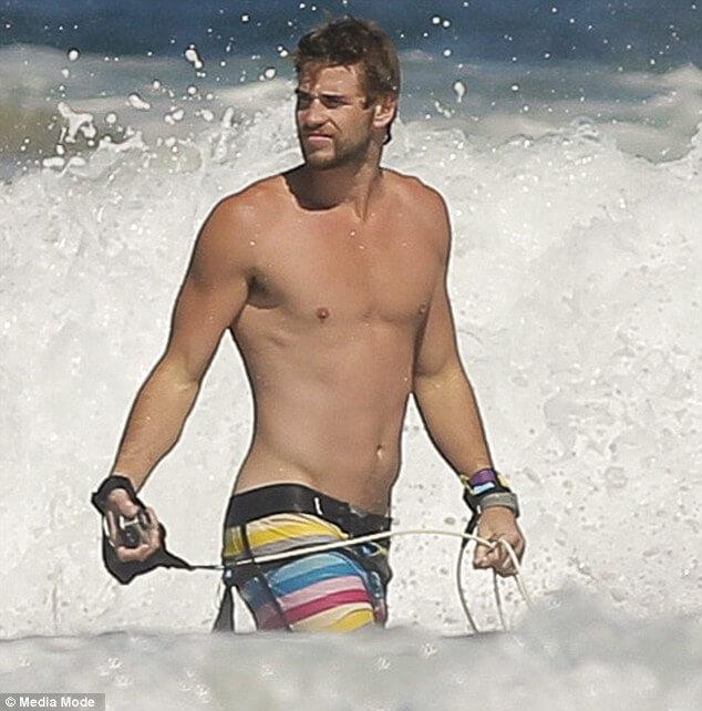 Liam fa kite surf