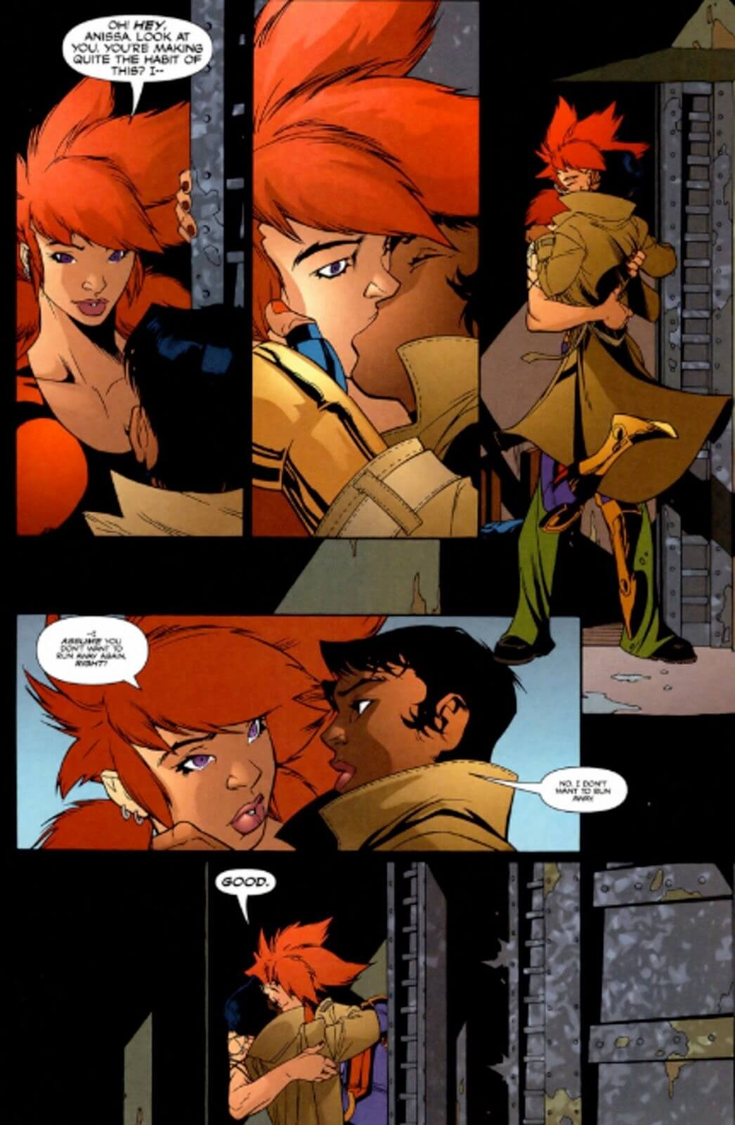DC fumetti sesso lesbico