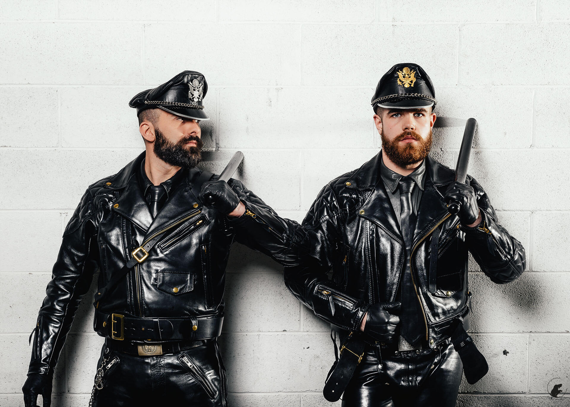 Police leather