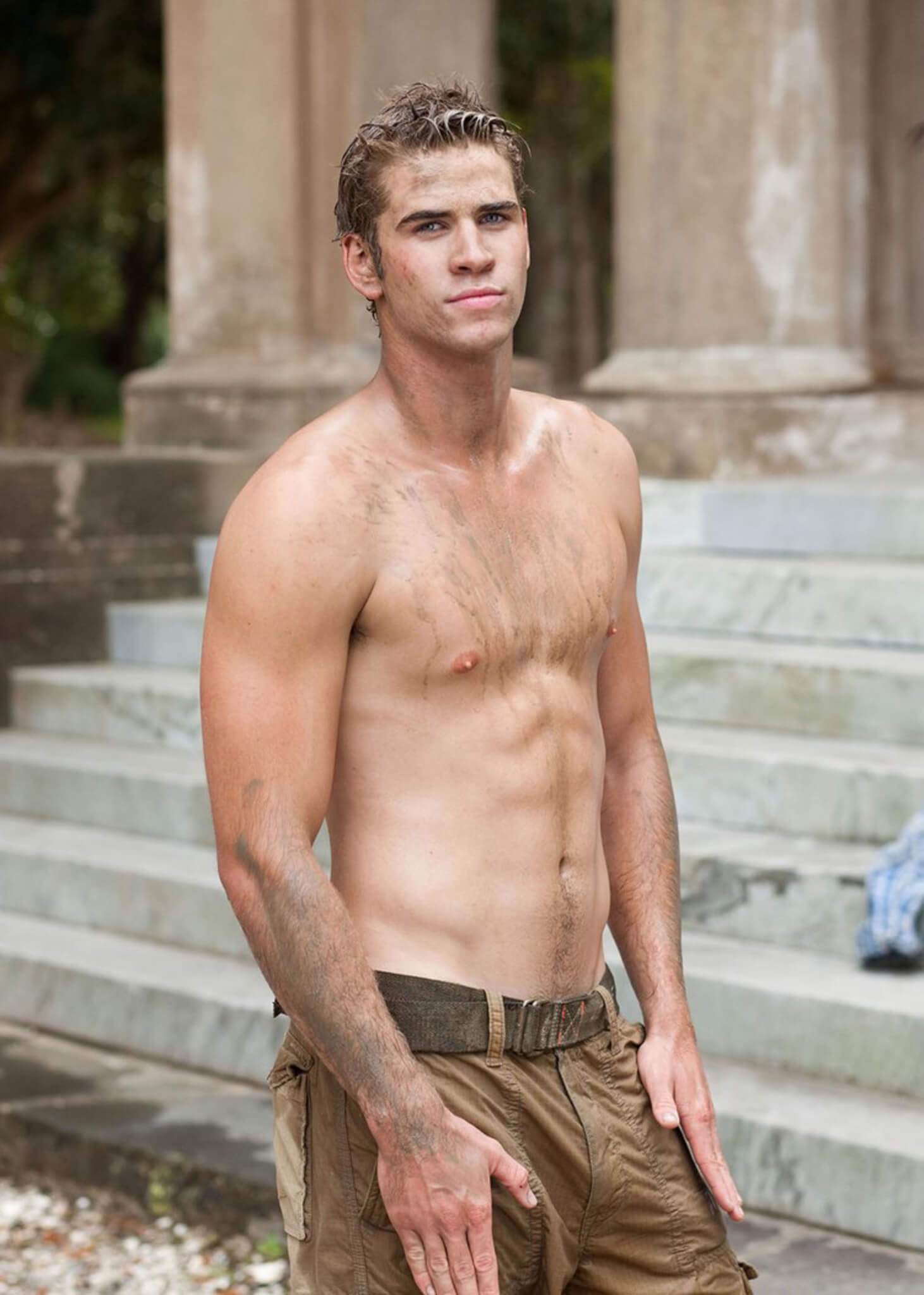 Liam Hemsworth in Last Song