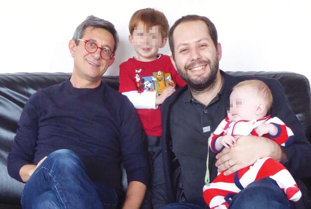 Sergio Lo Giudice e famiglia