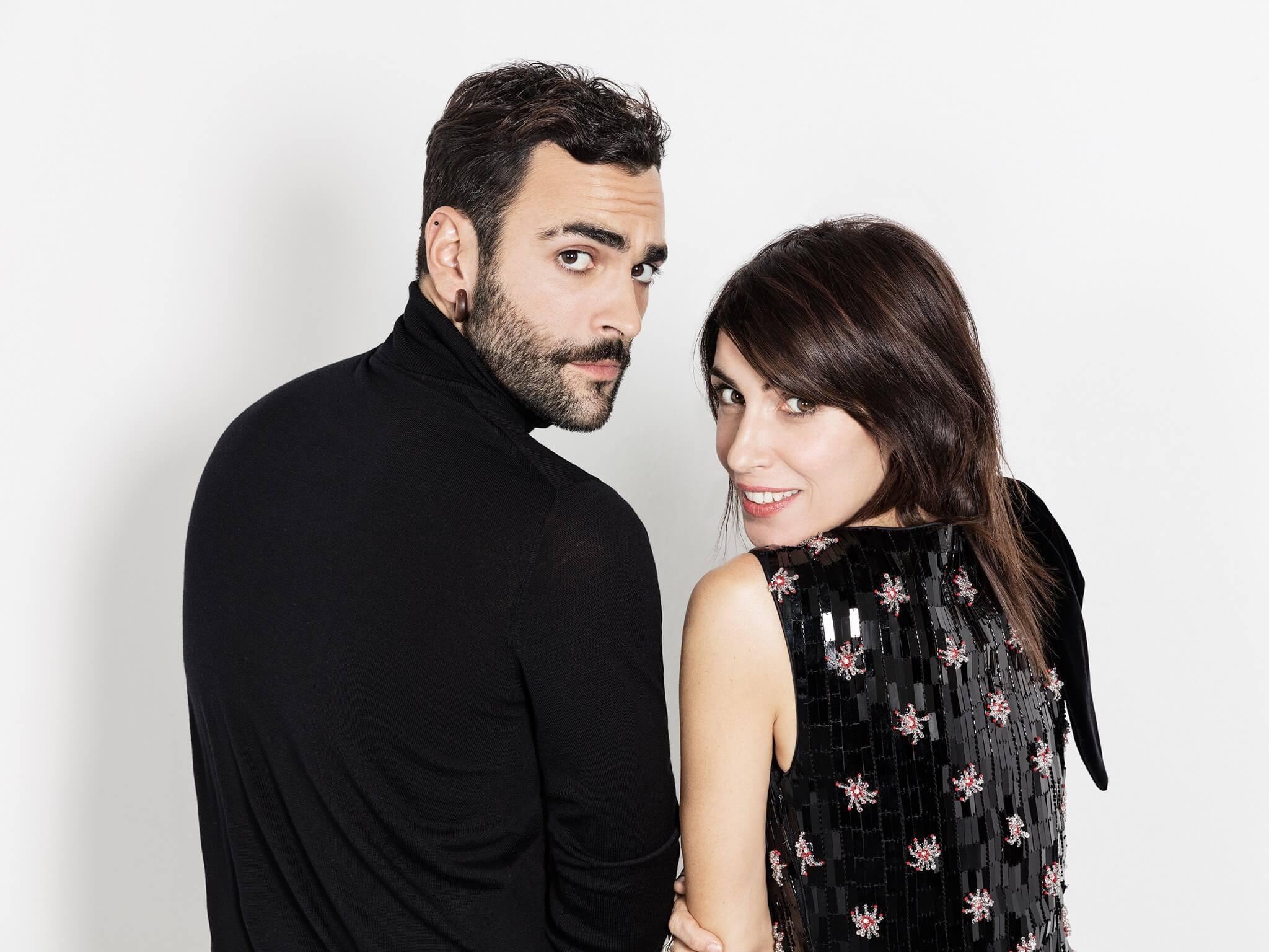 Giorgia e Marco Mengoni