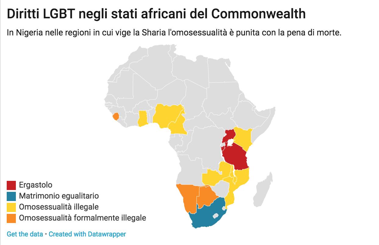 africa commonwealth diritti lgbt