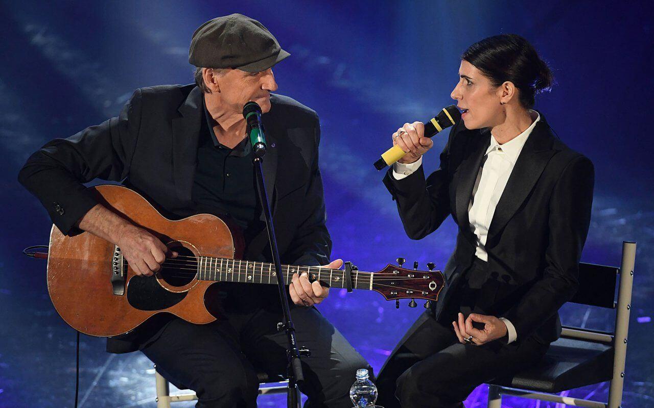 James Taylor con Giorgia