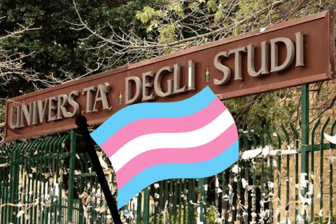 università di palermo bandiera transgender