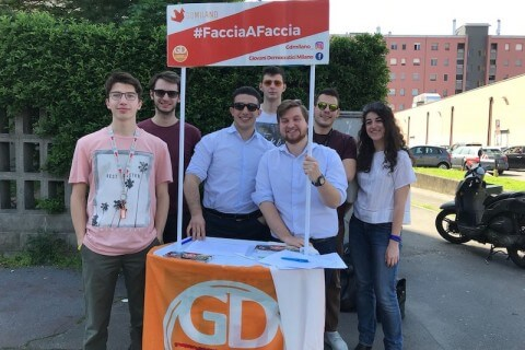 giovani PD GD democratici