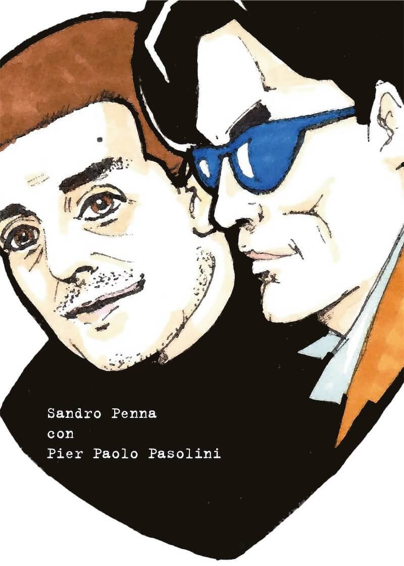 Pier Paolo Pasolini e Sandro Penna