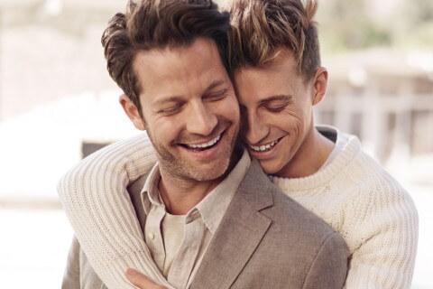 coppia gay uomini