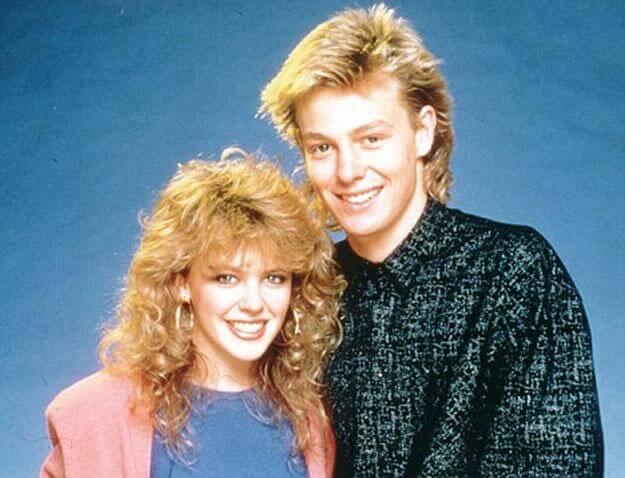 Kylie insieme a James Donovan