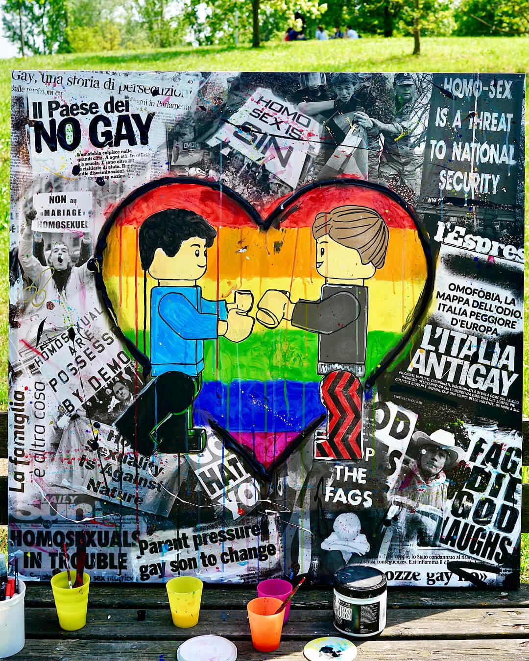Il quadro contro l'omofobia