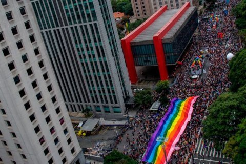 brasile san paolo pride