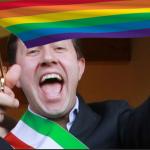 dario nardella firenze sindaco rainbow gay arcobaleno