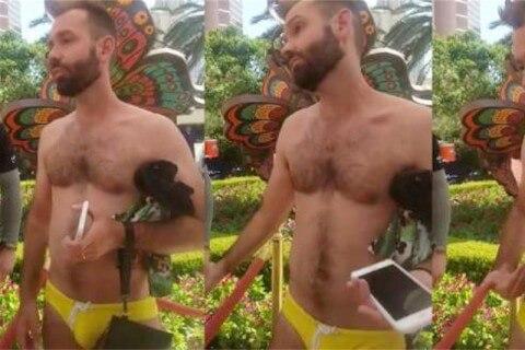 sesso gay in piscina