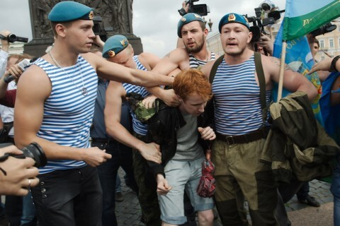 coppia gay russa