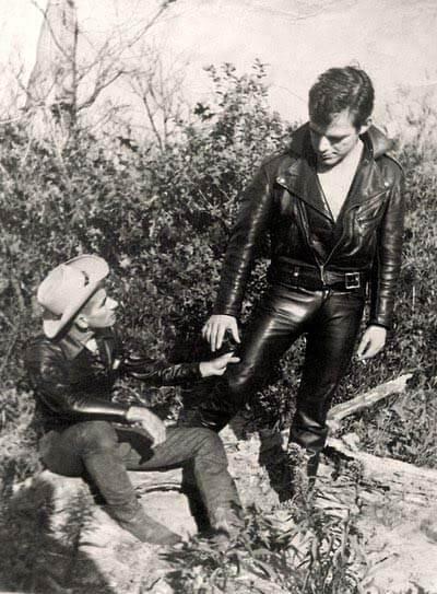 Foto leather vintage