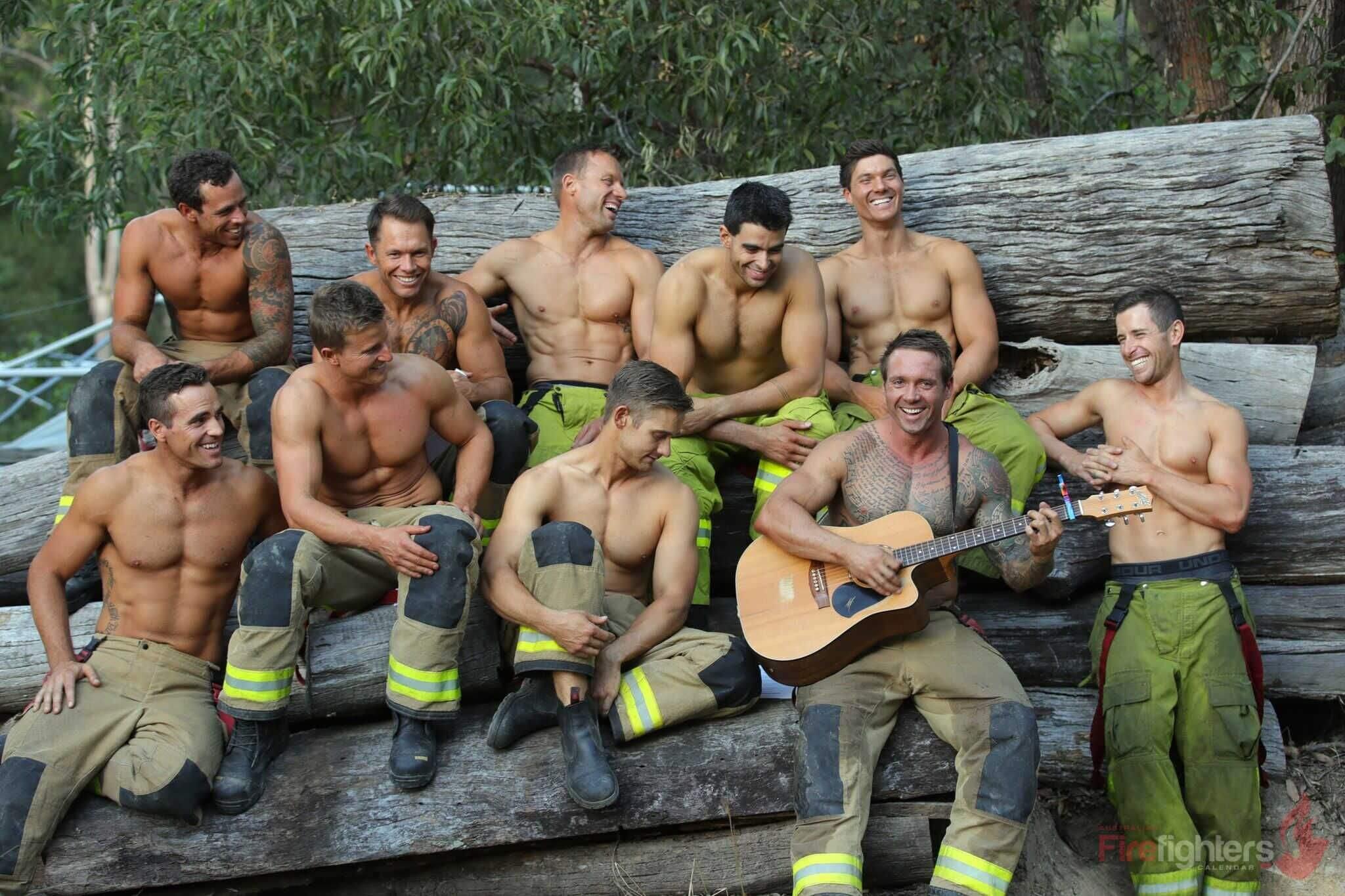 Il calendario 2019 dei pompieri australiani