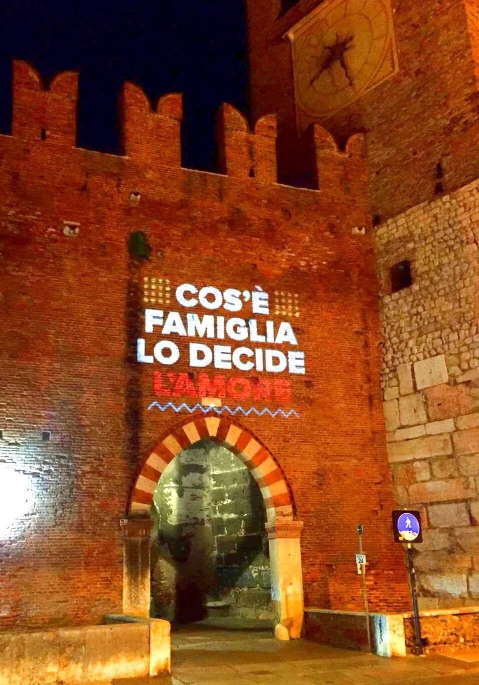 Verona, l'amore LGBT
