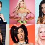 Mika, Baby K, Charli XCX, Miley Cyrus, Cardi B, Romina Falconi