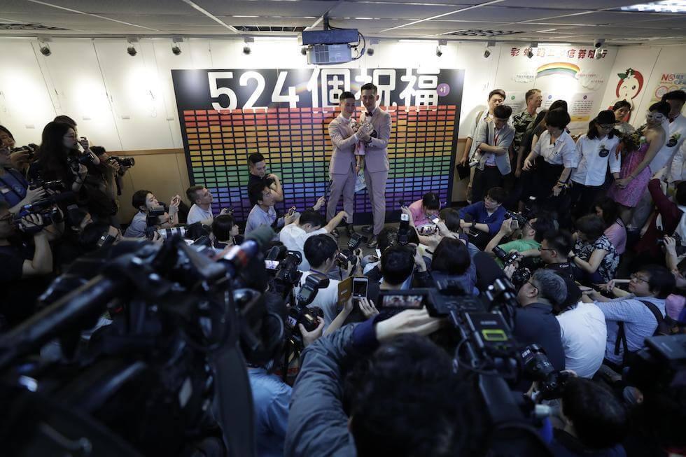 Taiwan nella storia: per la prima volta in Asia celebrate nozze gay
