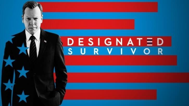 Locandina terza stagione di Designated Survivor
