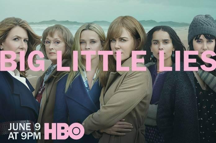 Locandina della seconda stagione di Big Little Lies con Meryl Streep