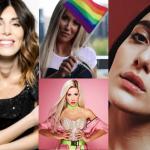 Bianca Atzei, Baby K e Levante al Milano Pride 2019