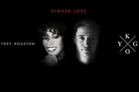 """Kygo e Whitney Houston nella copertina di """"Higher Love"""""""