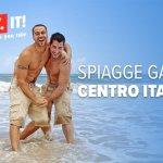Spiagge gay Toscana, Lazio, Marche